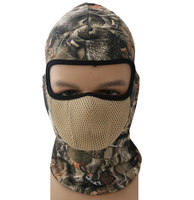 Tactical Airsoft Hunting Wargame Camouflage Breathing Dustproof Face Balaclava Mask