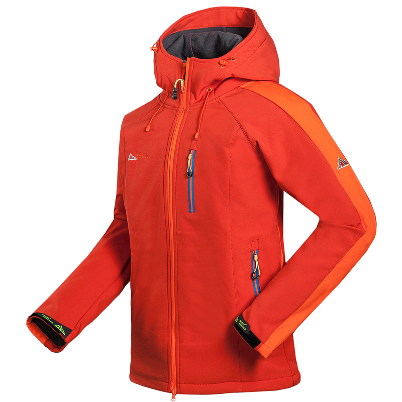 2015 New Spring Men's Waterproof Windstopper Softshell Jackets Men Camping Hiking Outdoor Sports Jacket Coats Outerwear