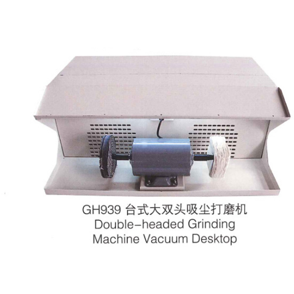 Polishing Machine With Dust Collecter For Jewelry Desktop Double Cloth Wheel Grinding Tools(China (Mainland))