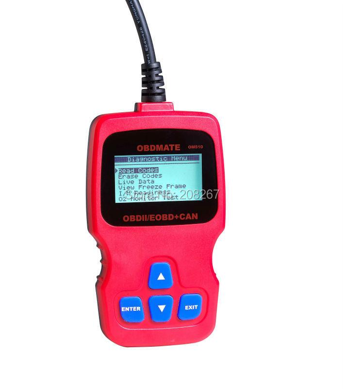 Autophix OBDMATE OM510 OBDII Auto Car OBDII 16 Pin code reader diagnostic Scanner OM510 Code reader(China (Mainland))