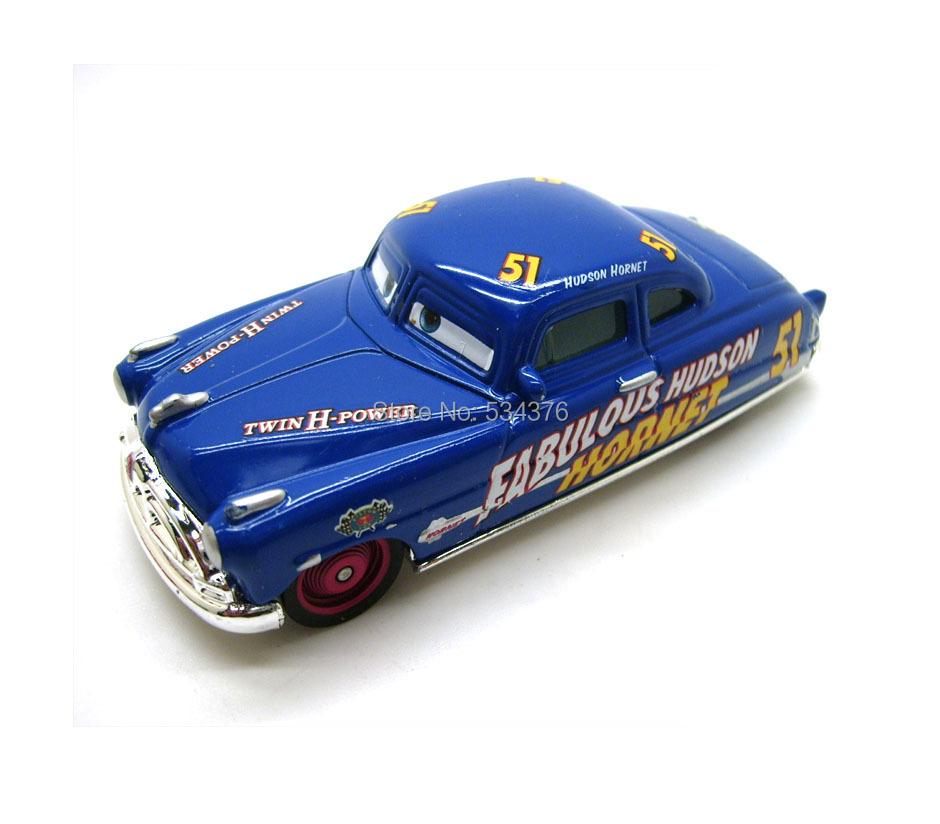 Pixar Movie Cars Diecast Doc Fabulous Hudson Hornet Twin H Power Toy(China (Mainland))