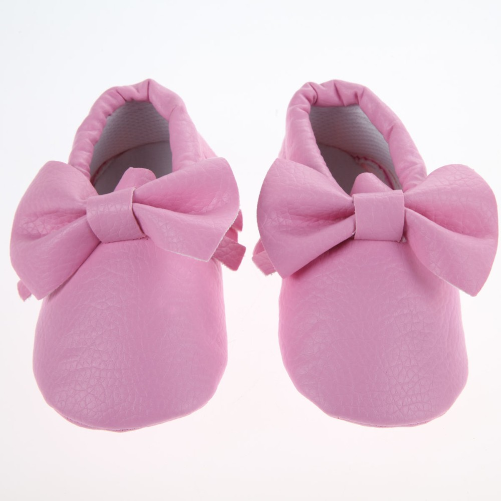 Baby First Walk Tassel Soft Sole Leather Shoes(China (Mainland))