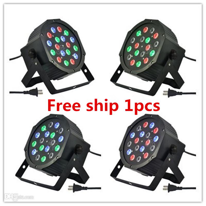 18X3W LED Par Light 54W RGB PAR64 DMX PAR Stage Lighting(China (Mainland))