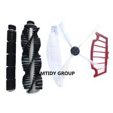 a set of A320 vacuum robot brush side/rubber/hair brush mop filter hepa