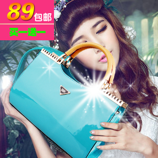 WholesaleFashion 2013 women's bridal bags one shoulder wedding bridesmaid handbag coat of paint bag W063