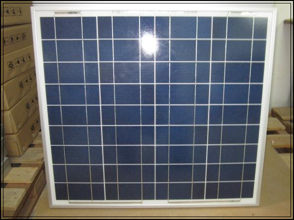 1Pcs 18V 55W 676mm*612mm Glass Laminated Polycrystalline Silicon Solar Cell,Solar Panel