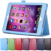 Tablets Accessories Book Style Leather Flip Case For Apple iPad Air Smart Stand Full Protect Bag Classic Cover For iPad 5(China (Mainland))