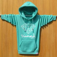 2015 New Arrival Diamond Supply Co Fashion brand Men Hoodies Full Sleeves Hip Hop Mens Sweatshirts men blusa masculina ding(China (Mainland))
