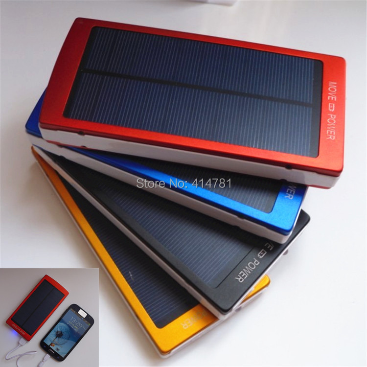 Large power bank Outdoor power supply Solar battery 1000000mah Portable Mobile Phone Battery for all Digital products charge(China (Mainland))