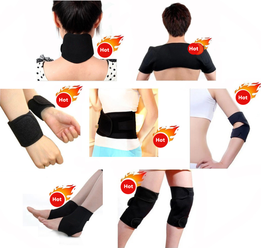 Fast Shipping 11-In-1 Tourmaline Magnetic Therapy Belt Self Heating Massage Tormaline Belt For Keeping Warm & Relieve Pain(China (Mainland))