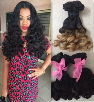 7A aunty fumi hair Spiral Curls brazilian virgin hair loose wave wavy sanxin human hair extensions miracurl<br><br>Aliexpress