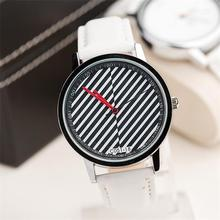 Free shipping Special style modern stripe mens watches Trendy casual ladies watches Fashion jewelry