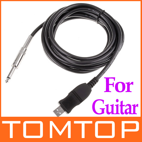 3M USB PC Guitar Bass Link Cable Recording Audio Adapter Accessories with Retail Package
