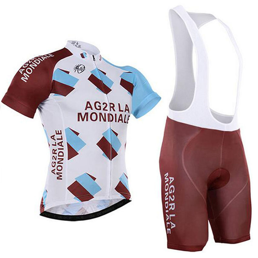 2016 New Team AG2R High Quality Team Summer Breathable Roupa Cycling Jersey Cycling Clothing/Mountain Bicycle Jerseys(China (Mainland))