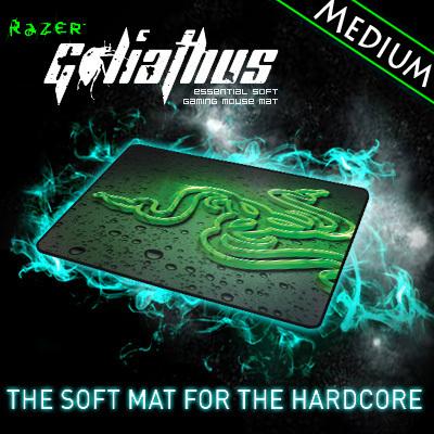 Razer Goliathus 2013 Speed Edition  Gaming mousepad, Medium size 355*254*3 mm Orignal& Brand New in BOX, Free shipping