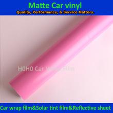 PINK Automobiles & Motorcycles Vinyl matte pink color wrap film