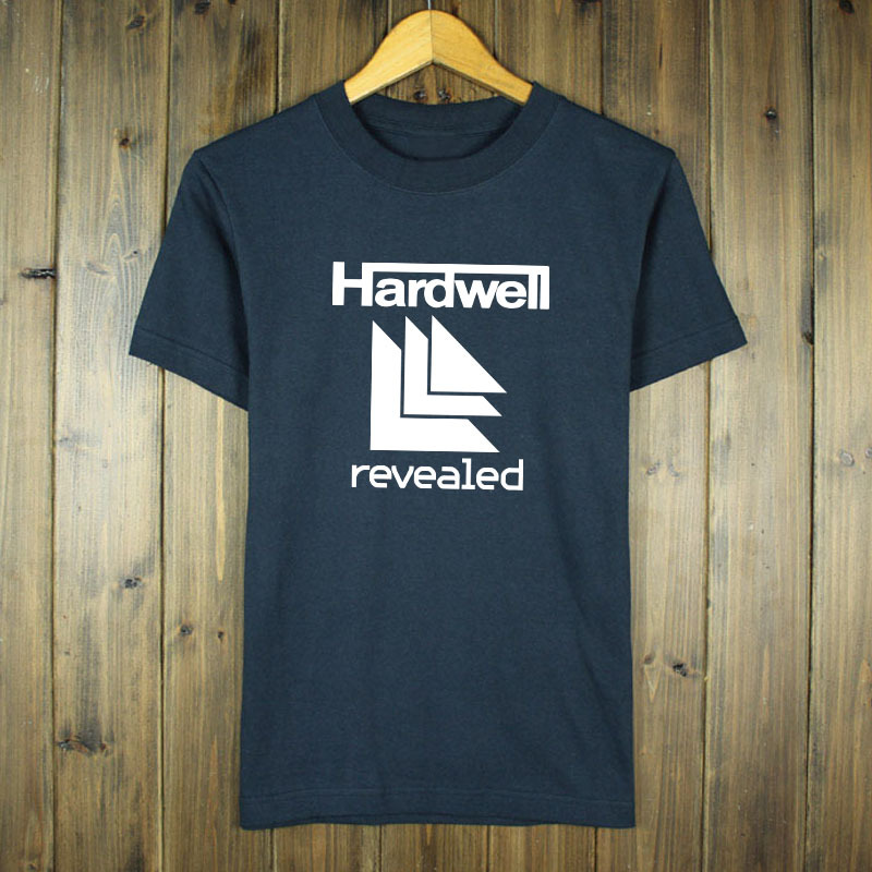 Fashion Summer Hardwell T Shirts Men Cotton O Neck Letter