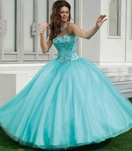 Fashion Mint Green Plus Size Sweet 16 Dresses Quinceanera Vestido De Girl 15 Years Party Dress GD216 - Viman's Bridal store