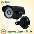 New Arrivals HD 3MP 1920P AHD IMX322 CCTV Surveillance Camera Security Waterproof Black Bullet 36 leds