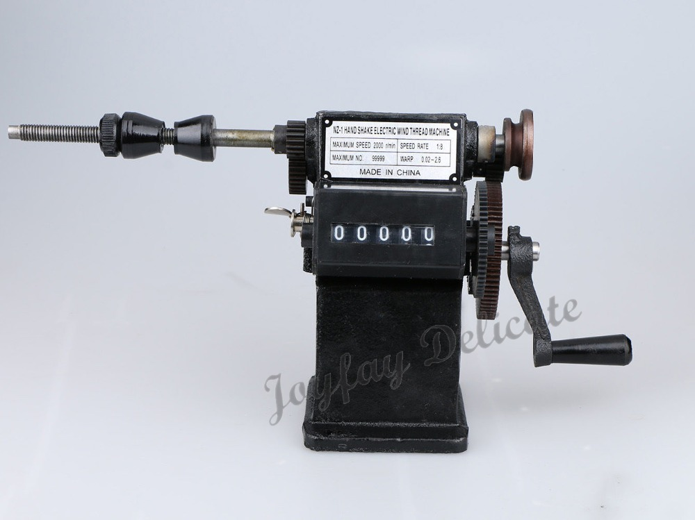 Electric Dual-purpose Manual Coil Winding Machine Hand Coil Winder NZ-1 W/ Counting Function(China (Mainland))