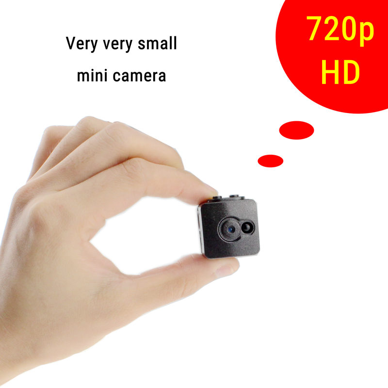 720p Utral small mini camera espia oculta sound activated gizli kamera night vision minicam hidden DV DVR voice video recorder(China (Mainland))