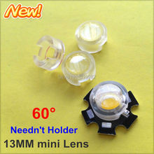 Buy 100pcs 13mm IR LED mini Lens 60 Degree Needn't Holder 1W 3W 5W Infrared monitoring Power LED Diode Reflector Collimator Acrylic for $10.20 in AliExpress store