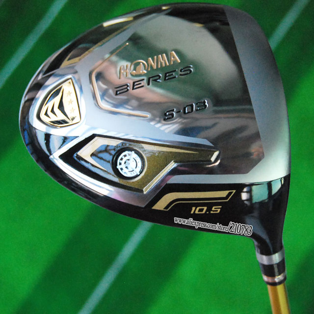 "New Honma Golf Clubs BERES S-03 Golf Driver10.5""or""9.5 lot ARMRQ8 3star Graphite Shaft with driver Golf headcover Free Shipping"