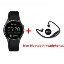 Buy 3G Kingwear KW88 Smart watch PK Finow X5 X61.39'' Amoled 400*400 Smart Watch 3G Calling 2.0MP Camera Pedometer Heart Rate PK K18 for $97.65 in AliExpress store
