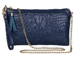 100% Genuine leather shoulder bag 2015 new European dinner ladies bag handbag leather crocodile leather shoulder bag women bag(China (Mainland))