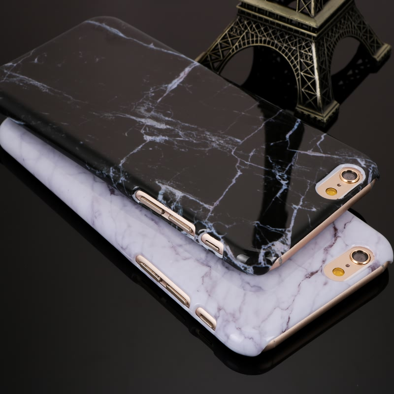 2016 New Arrival Granite Marble Texture Pattern Phone Cases Hard PC Case for iPhone 6 6S 4.7'' High Quality Shockproof Phone Bag(China (Mainland))