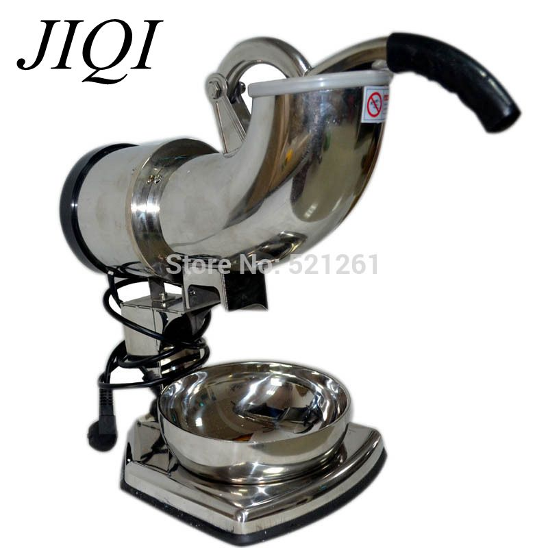 Kitchen tool Full commercial stainless steel electric ice shaver ice crusher ice machine Small size(China (Mainland))