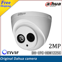 2017 New Dahua DH-IPC-HDW1225C IR HD 1080P 2MP H.264 Security IP Camera IP67 Surveillance Network Dome Camera Support Onvif(China (Mainland))