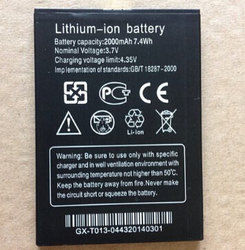 THL w200s Battery 100% New Original 2000mAh Lithium-ion Battery for THL W200 w200s W200C Smart Mobile Phone -In Stock+Track Code