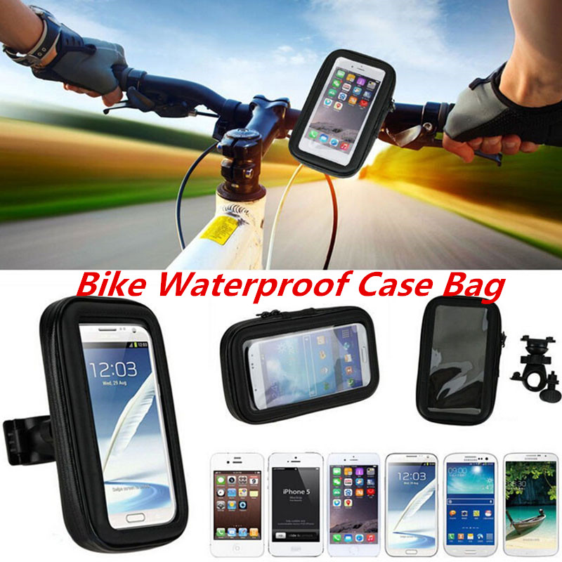 Waterproof Case Holder for Bike for Samsung Galaxy S7/S7 Edge/S6/S6 Edge/S6 Edge+/S5/S4/S3 Bicycle GPS Holder Motorcycle Mount(China (Mainland))