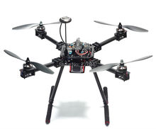 Upgrade F550 ZD550 550mm Carbon fiber Quadcopter Frame FPV Quad with Carbon Fiber Landing Skid(China (Mainland))