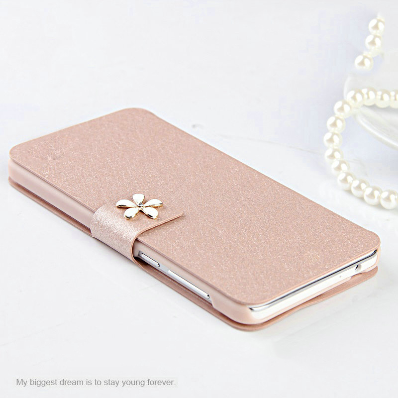 PU Leather Flip Phone Cover Case For ZTE Blade G LUX Q LUX GEEK 2 L2 L3 N5 V9815 Q5 S6 U970 U930 V5 MAX V5 PRO N939ST Pink TGD(China (Mainland))