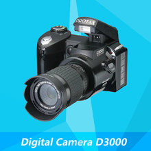 Digital Camera D3000 Digital Video Camcorder 16.0MP 3.0 TFT Display 16 Times Telephoto Lens Wide Angle Lens Russian Languages(China (Mainland))