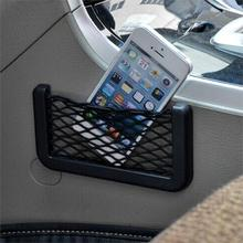 hot sale new Promotions Universal Auto Car Seat Back Storage Net Bag Phone Holder Pocket Organizer free shipping