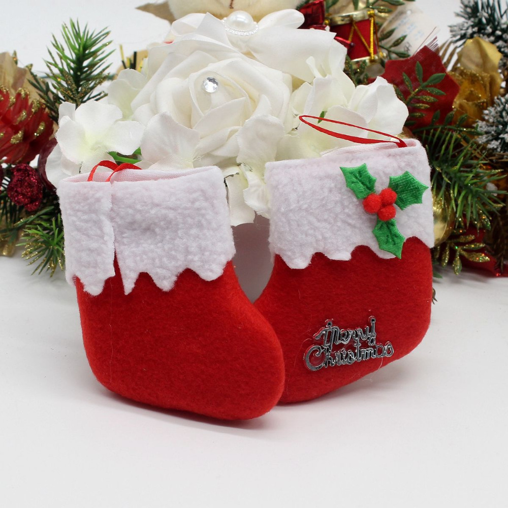 Hot Sell Christmas Decorations Christmas Tree Little Socks