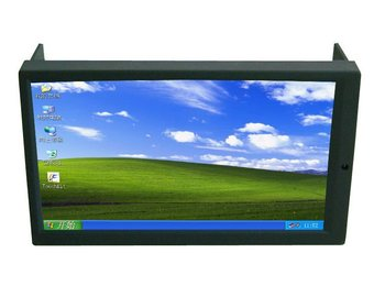 2DIN,7 Inch ,LED Touch Screen Monitor, with VGA ,Auto Switching AV2 for Reverse Camera for Car PC