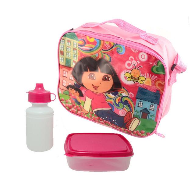 Дора мультфильм дети обед мешок эффективность охлаждения изоляцией обед сумка для ...