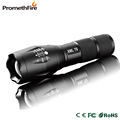 Hot XML T6 LED 2000LM Zoomable LED Flashlight Torch Lamp Light for 18650 or AAA Battery