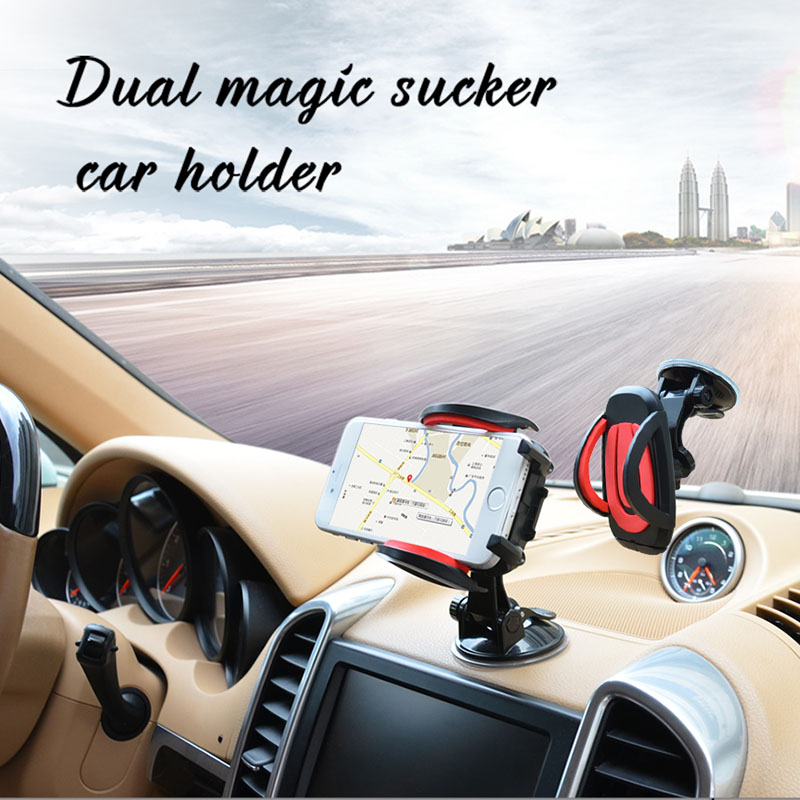 Universal Cellphone Car Windshield Cradle Mount Holder for iPhone xiaomi Samsung LG HTC Motorola Sony 3-6.5 inch Phone(China (Mainland))