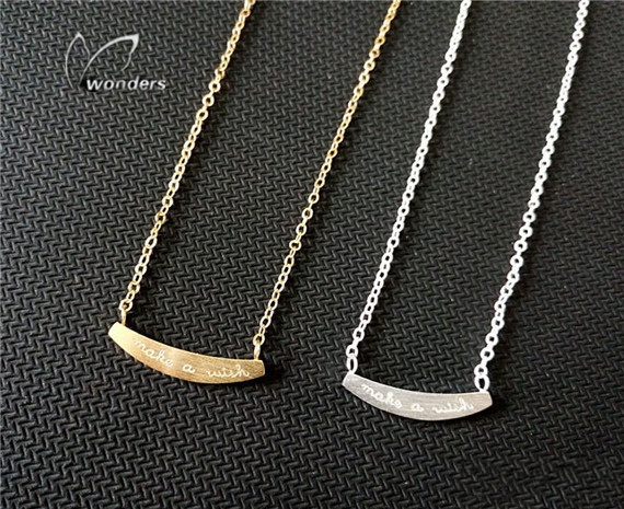 5PCS Chokers Pendant Make A Wish necklace For Women<br><br>Aliexpress