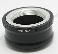 Buy Lens mount Adapter Ring M42-NEX 10X M42 Lens SONY NEX E Mount body NEX3 NEX5 NEX5N NEX7 NEX-C3 NEX-F3 NEX-5R NEX6 wholesaler) for $41.37 in AliExpress store