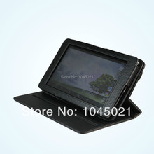 Hot sales Rotation high quality black tablet Cover Case For ASUS MeMO Pad ME172V 7'' pu leather housing with Free Shipping(China (Mainland))