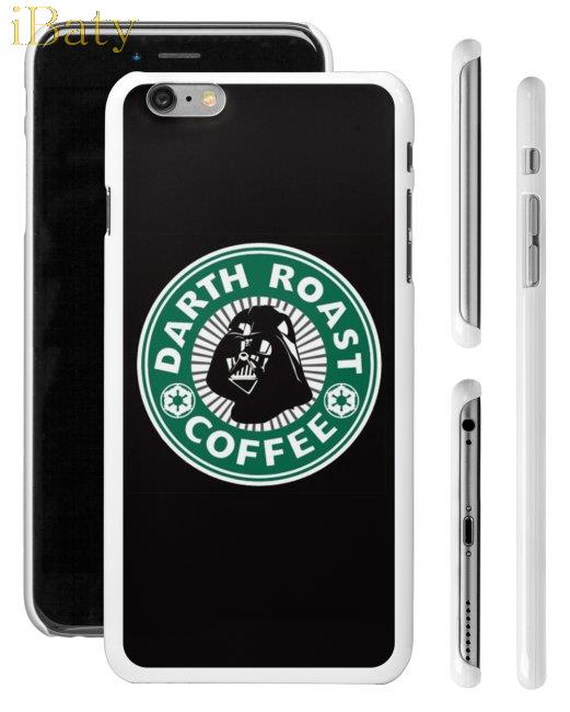 Starbucks Star Wars Inspired Darth Vader Phone Case Apple iPhone 4 4s 5 5s 5c 6 6s plus mobile cover  -  iBaty Cute Custom Gift Co., Ltd. store