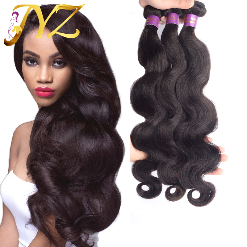 Unprocessed Brazilian Virgin Hair 7A JYZ Products 100% Human Extension Lot Cheap Body Wave  -  official store store