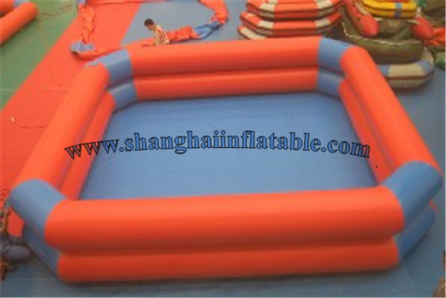 hot sale water sports PVC double layer inflatable pool stronng quality inflatable swimming pool(China (Mainland))