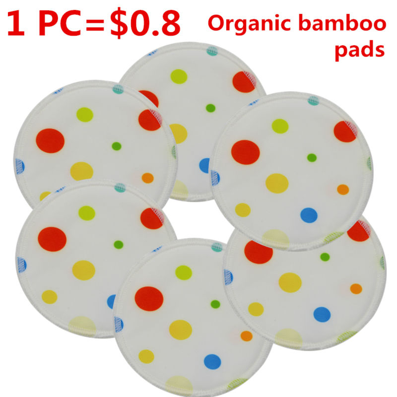 Beilesen 20 pcs/lot 2015 New size 12cm diameter Bamboo Material Washable Sanitary Breast Pads Cloth Nursing pad for Mum<br><br>Aliexpress